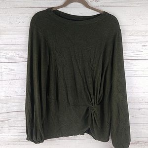 Bobeau Soft Sweater Top L